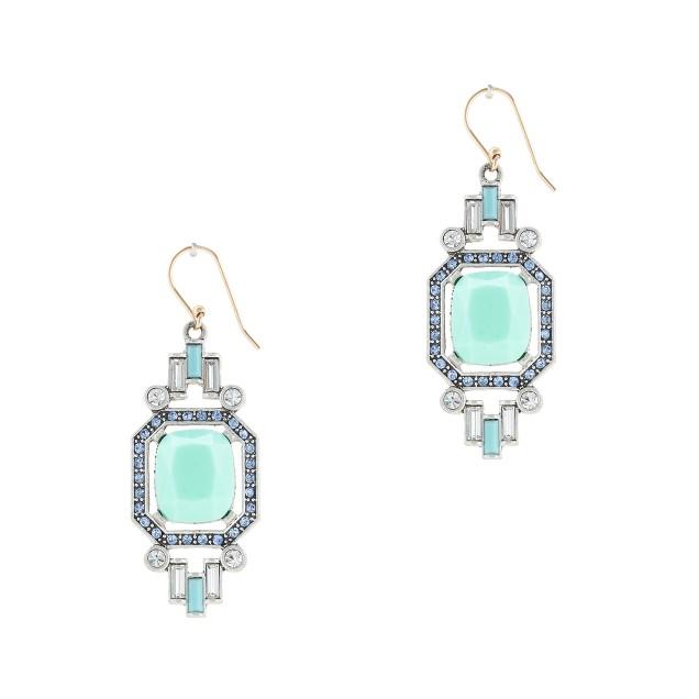 Lulu Frost for J.Crew carnival earrings