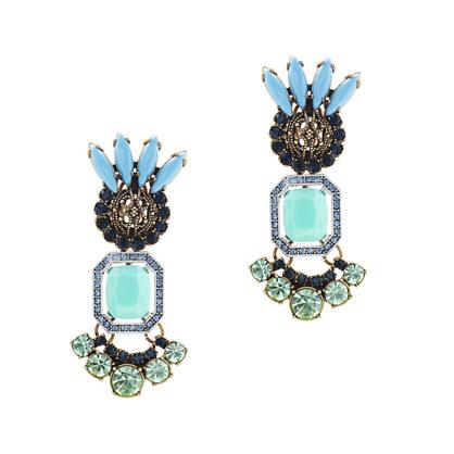 Lulu Frost for J.Crew tropicale earrings