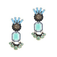 Lulu Frost for J.Crew tropicale earrings