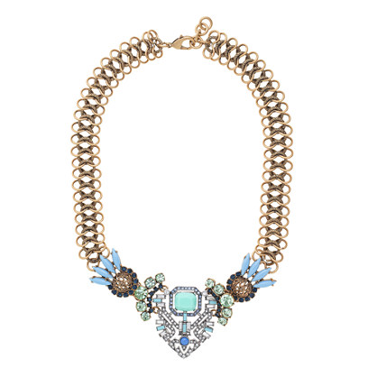 Lulu Frost for J.Crew tropicale necklace