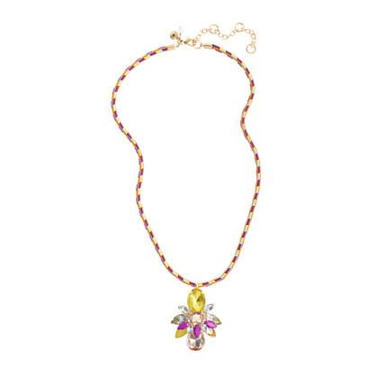 Girls' bug friendship necklace