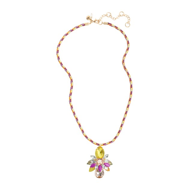 Girls' bug friendship necklace