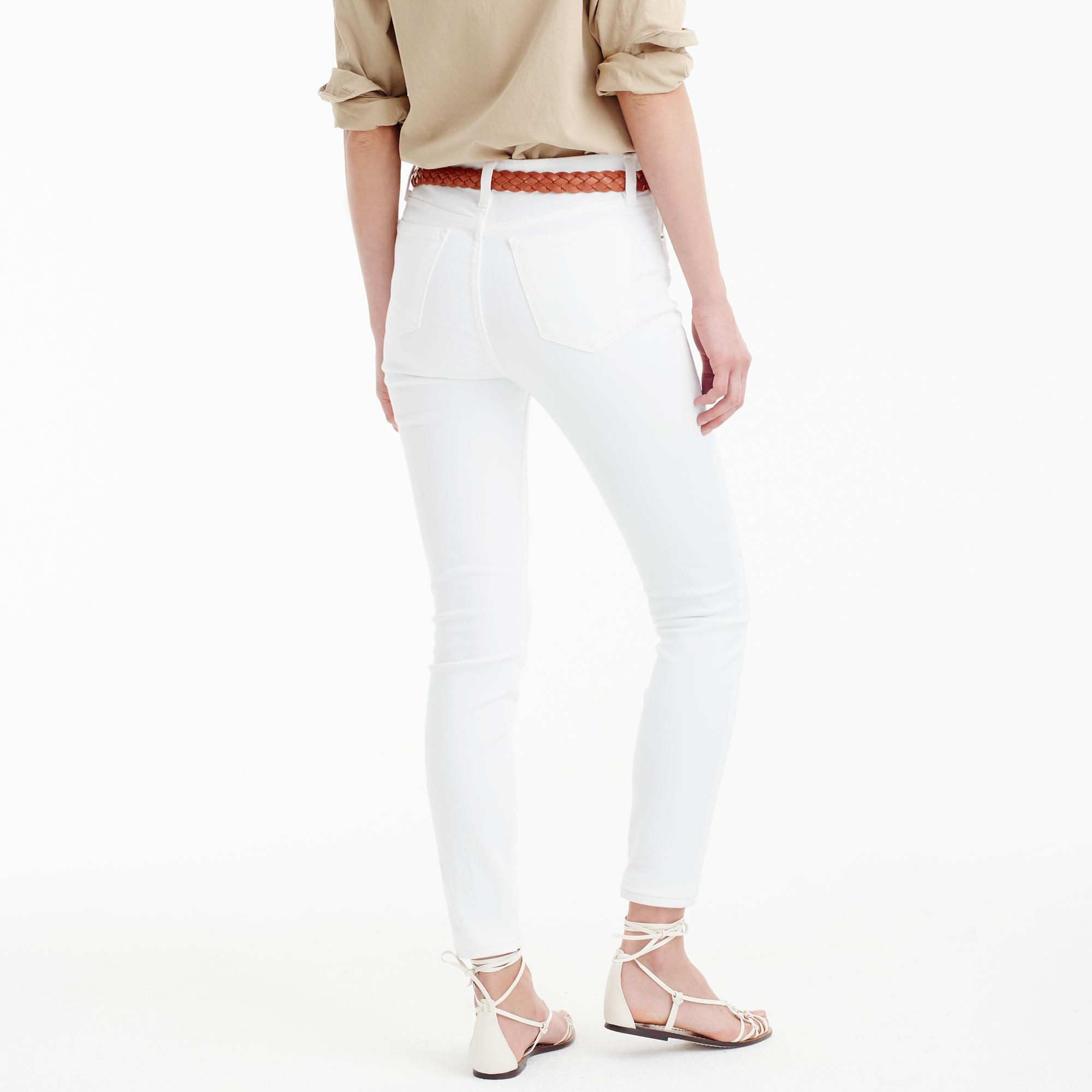 Lookout High-Rise Jean In White : Women's Jeans | J.Crew