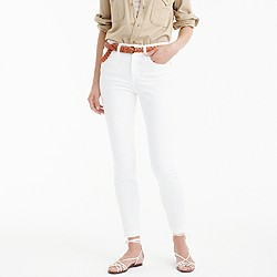 Petite lookout high-rise jean in white