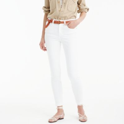 "Tall 9"" lookout high-rise jean in white"