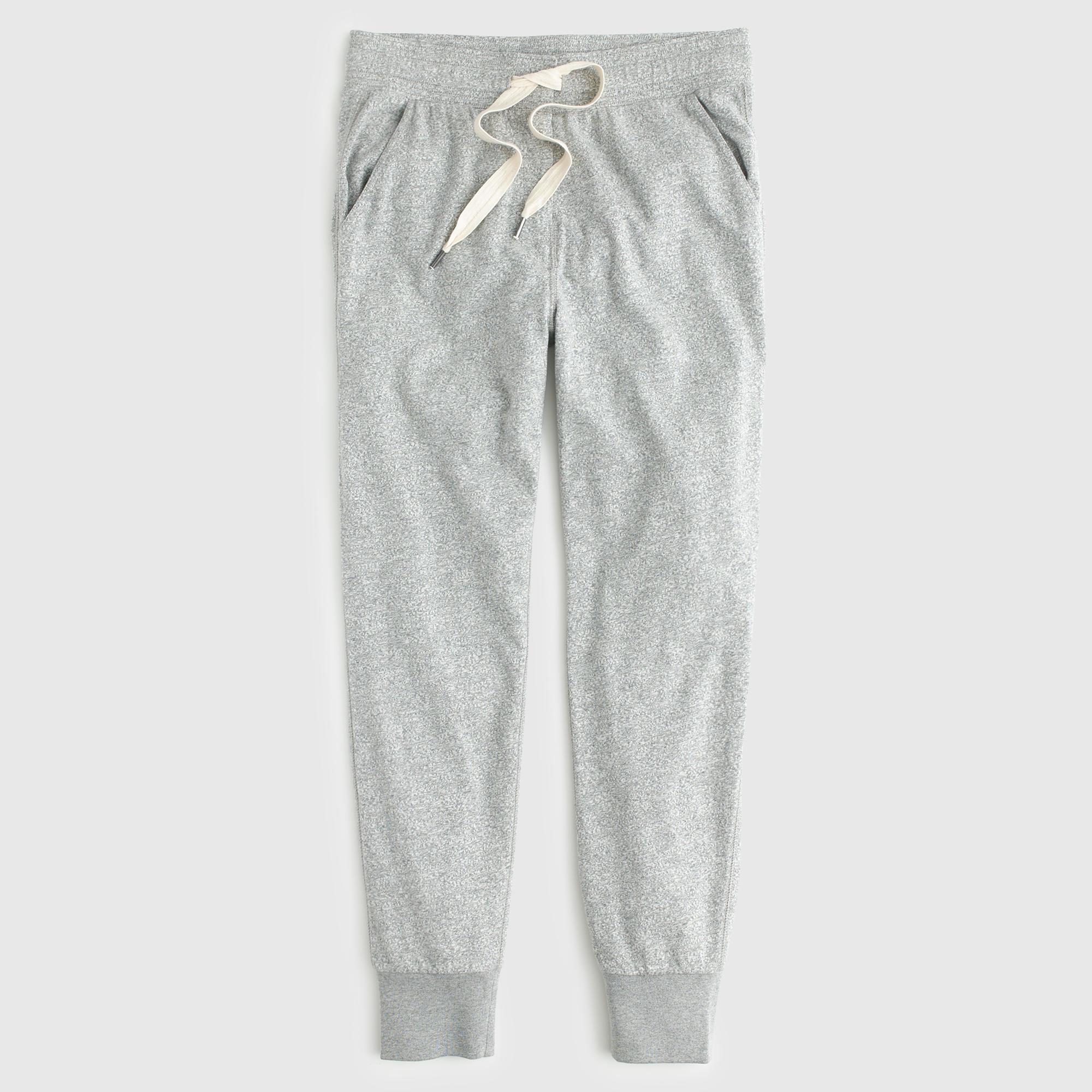 Lyst - J.Crew Skinny Trouser Sweatpant in Black
