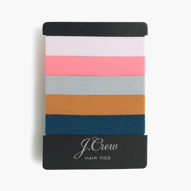 Elastic hair-tie pack