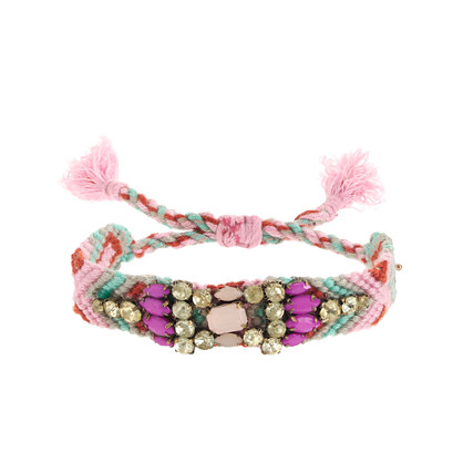 Girls' multi-beaded friendship bracelet