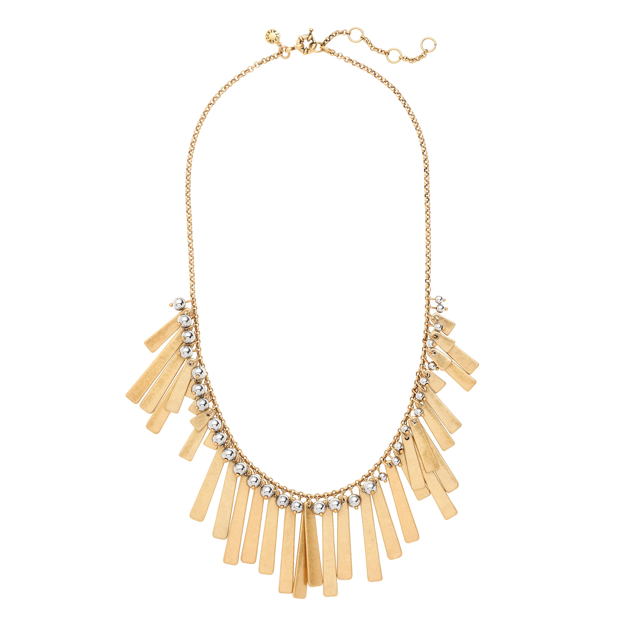 Asymmetrical fringe necklace j crew for J crew jewelry 2015