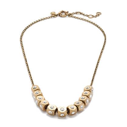 metal bead necklace necklaces j crew