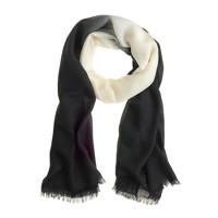 Dip-dye scarf