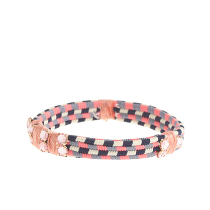 Girls' beaded friendship bracelet