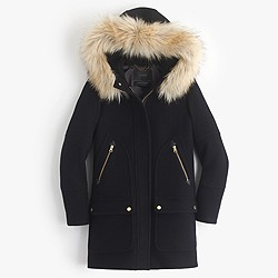 Petite chateau parka in stadium-cloth