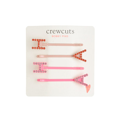 Girls' HAHA bobby pins