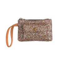 Girls' glitter pochette