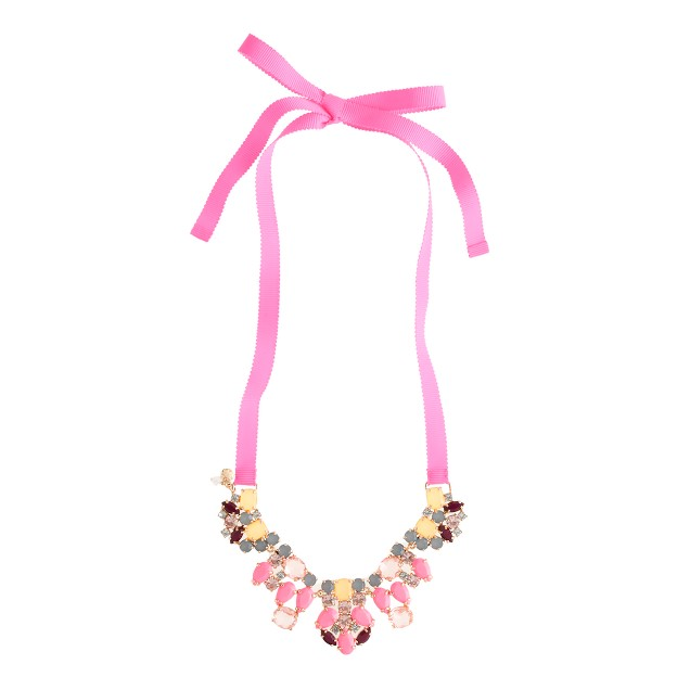 Girls' statement necklace