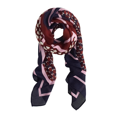 Four square scarf