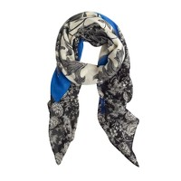 Two-floral scarf