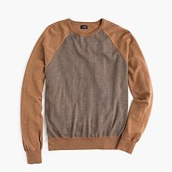 Merino wool sweater in stripe