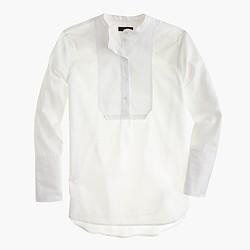 Piqué bib shirt