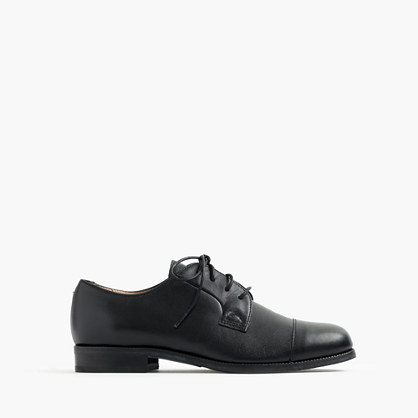 Boys' cap-toe oxfords