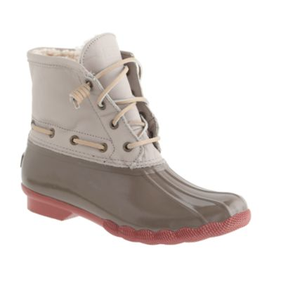 Women s Sperry Top Sider for J Crew saltwater boots