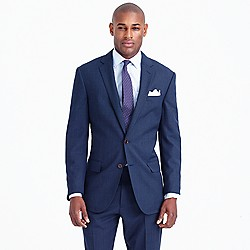 Crosby Traveler suit jacket in glen plaid Italian wool