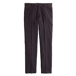 Ludlow suit pant in glen plaid English wool