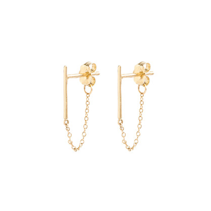 Catbird™ 14K gold ballerina earrings