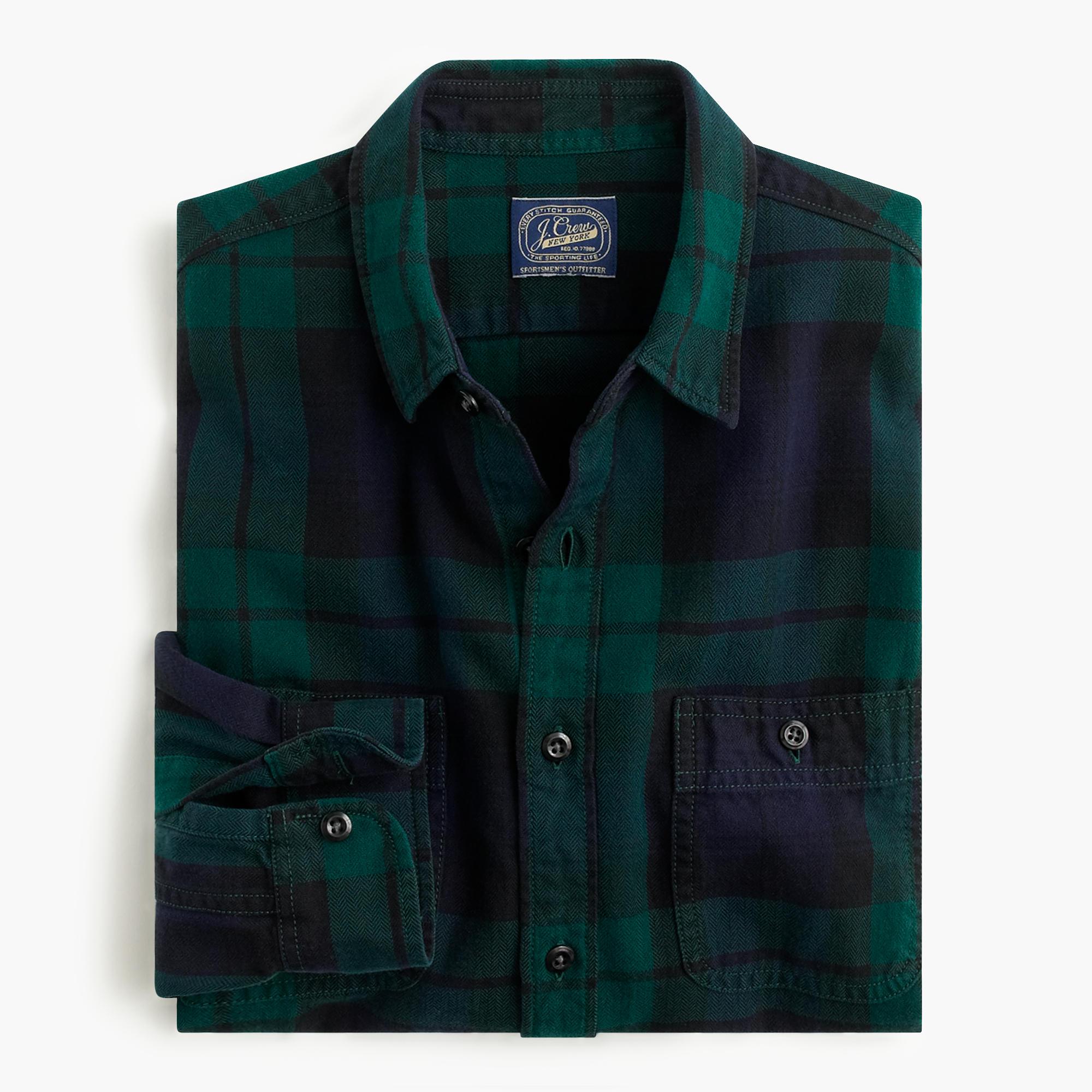 Plaid Shirts Mens