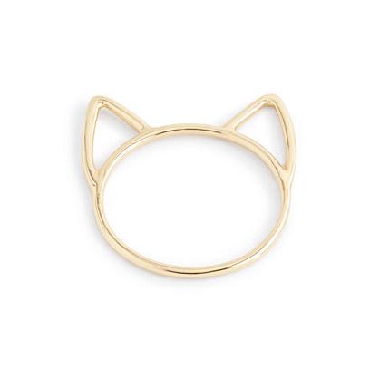 Catbird™ for J.Crew 14k gold lovecat ring