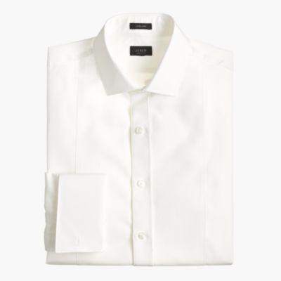 Ludlow piqué bib tuxedo shirt