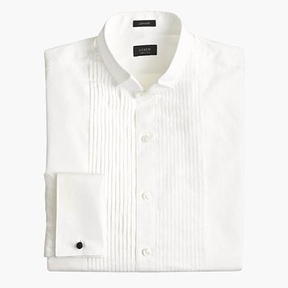 Ludlow wing-collar tuxedo shirt