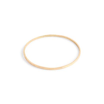 Catbird™ 14k gold threadbare stacking ring