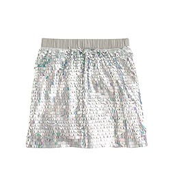 Girls' mermaid sequin skirt