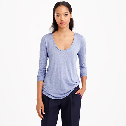 Long-sleeve prima jersey T-shirt