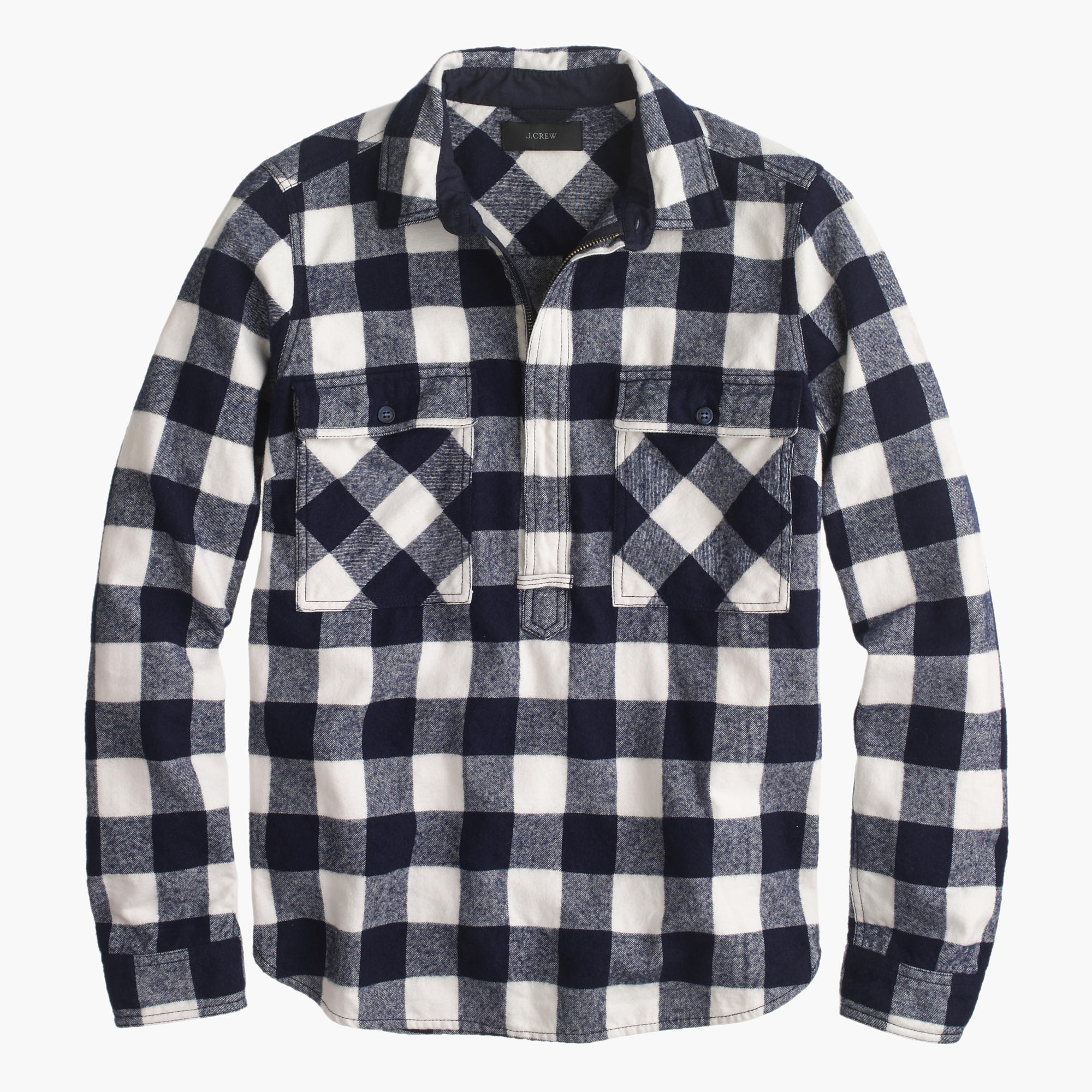 Buffalo Check Shirt-Jacket : Women's Tops | J.Crew