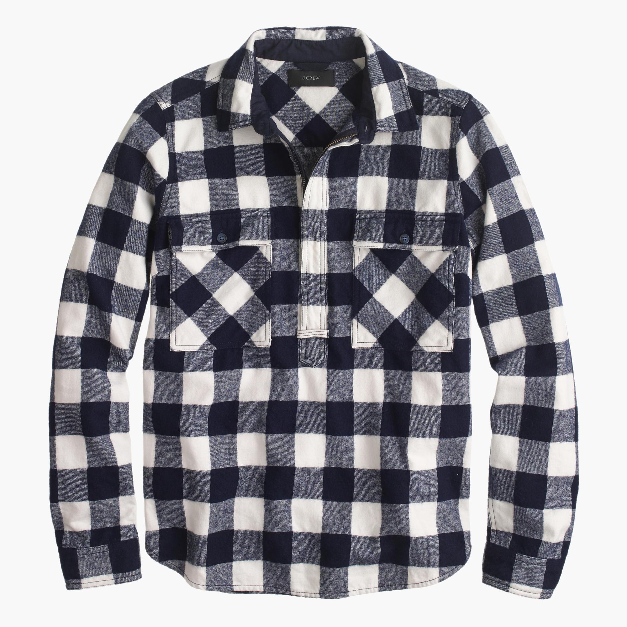 Check Shirt Jacket