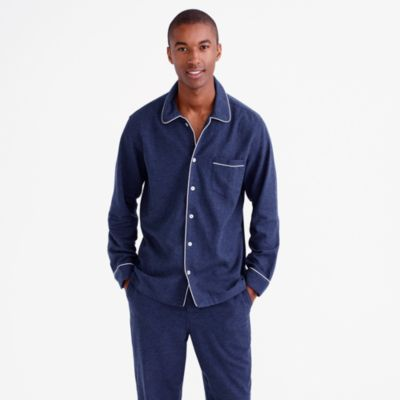 Flannel Mens Pajamas Sets Breeze Clothing