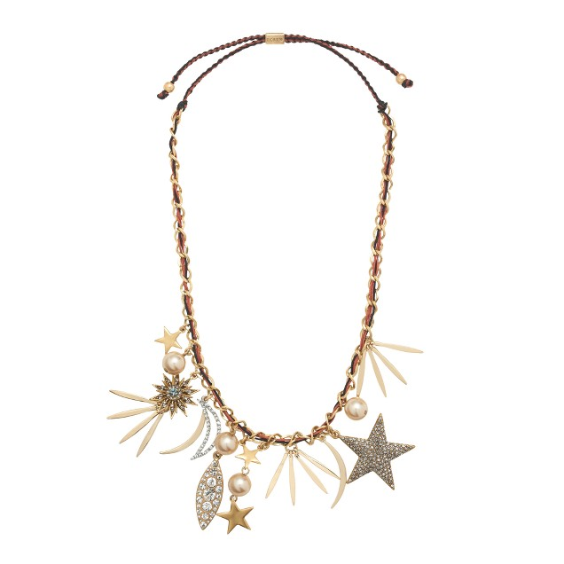 Firework charm necklace
