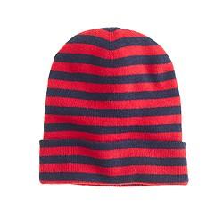 Kids' stripe beanie