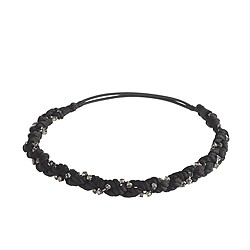 Sparkle braided headband