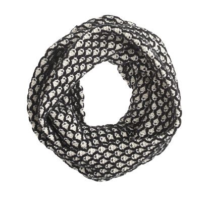 honeycomb infinity scarf scarves j crew. Black Bedroom Furniture Sets. Home Design Ideas