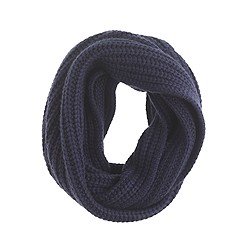 Chunky ribbed scarf