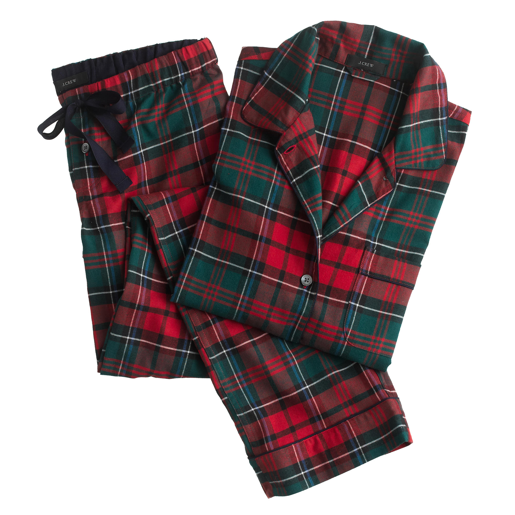Pajama set in plaid flannel : | J.Crew