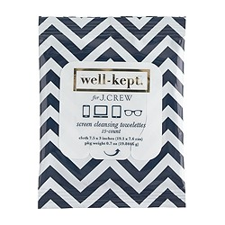 Well-Kept® for J.Crew screen cleansing towelettes