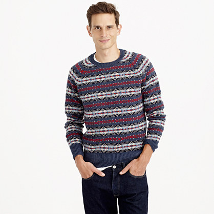 Lambswool Fair Isle sweater : Lambswool | J.Crew