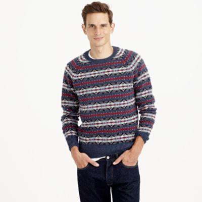 Lambswool Fair Isle sweater : | J.Crew