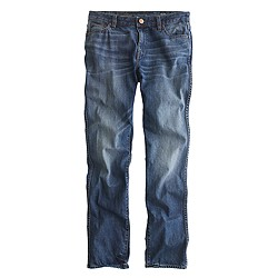 Broken-in boyfriend jean in Walker wash