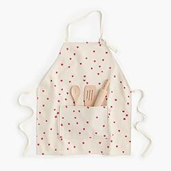 Kids' Odette Williams™ baker's apron set in pink stars